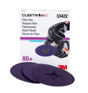 3M™ Cubitron™ Fibre Круги зачист. 80+ 125ммx22мм