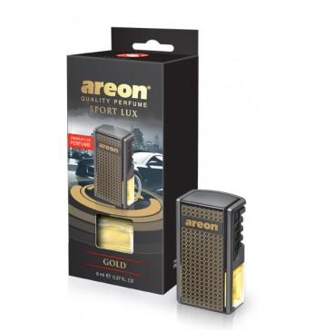 Освежитель AREON CAR GOLD 8мл, на решетку