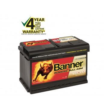 Аккумулятор Banner AGM 70Ah 720A RUNNING BULL 12V 278x175x190mm