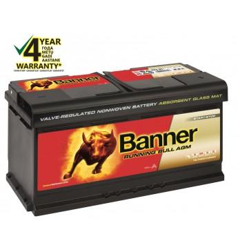 Аккумулятор Banner AGM 92Ah 850A RUNNING BULL 12V 354x175x190mm