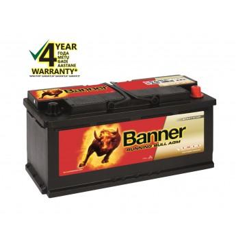 Аккумулятор Banner AGM 105Ah 950A RUNNING BULL 12V 394x175x190mm