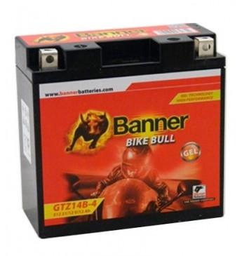 Аккумулятор Banner GEL 11Ah 172A Bike Bull 12V 150x87x110mm