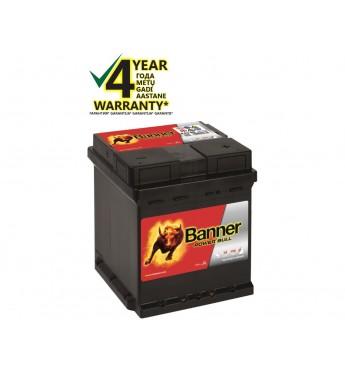 Аккумулятор Banner 42Ah 390A Power 12V 175x175x190mm