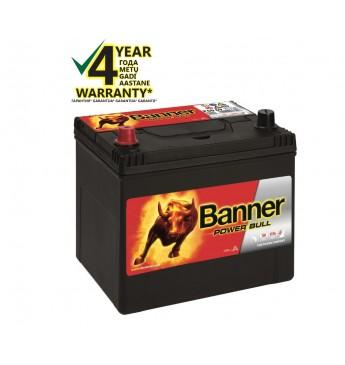 Аккумулятор Banner 60Ah 480A +- 12V Power 233x173x203x225mm