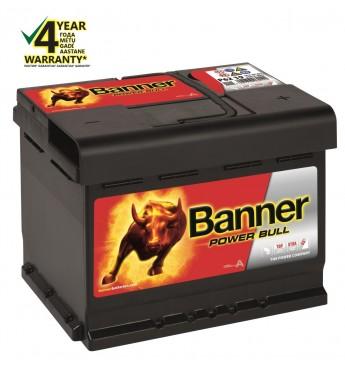 Аккумулятор Banner 62Ah 540A 12V Power 241x175x190mm