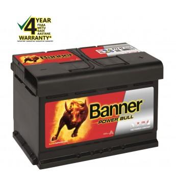 Аккумулятор Banner 72Ah 660A 12V Power 278x175x175mm