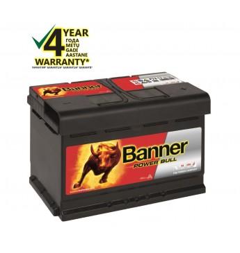 Аккумулятор Banner 74Ah 680A 12V Power 278x175x190mm