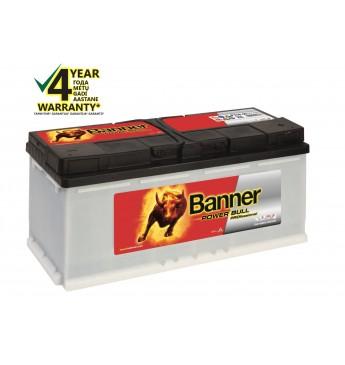 Аккумулятор Banner 110Ah 850A 12V Power PRO 394x175x190mm