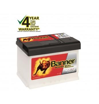 Аккумулятор Banner 50Ah 420A 12V Power PRO 210x175x190mm