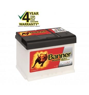 Аккумулятор Banner 63Ah 600A 12V Power PRO 241x175x190mm