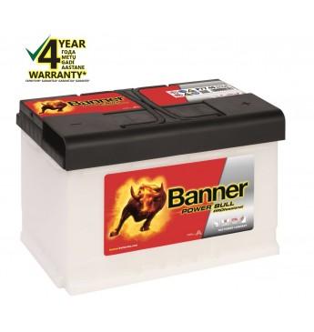 Аккумулятор Banner 77Ah 680A 12V Power PRO 278x175x190mm