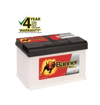 Аккумулятор Banner 84Ah 720A 12V Power PRO 315x175x190mm