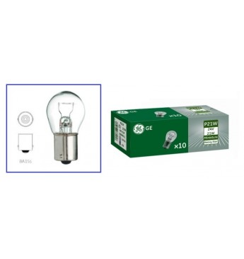 Light bulb HD 24V, 21W, BA15s