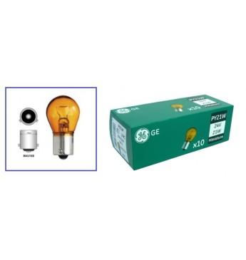 Light bulb 24V, 21W, BAU15s, PY21W/Amber
