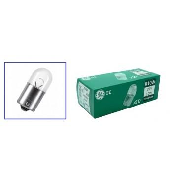 Лампа GE 24V 10W одноконтак. малая