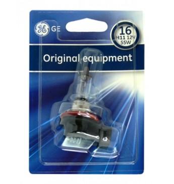 Лампа GE H11 12V 55W блистер