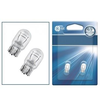 Лампа GE безцок. 12V 21/5W блистер (2шт)