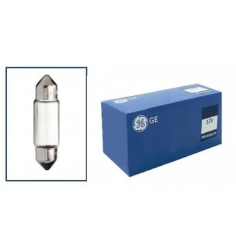 Лампа GE 7576 12V 10W пальчик