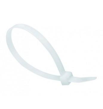 Хомут пластиковый белый 200/5мм