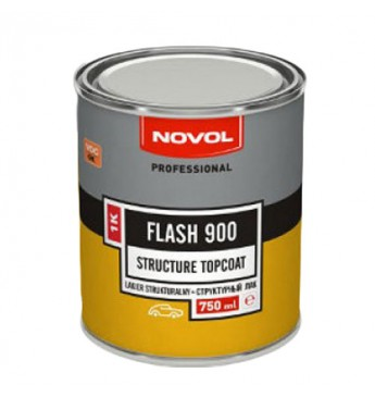 Лак структурный черн FLASH900 0.75л