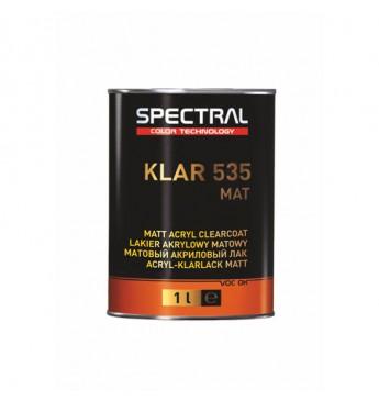 Лак SPECTRAL KLAR 535 мAT VHS 2:1 1л