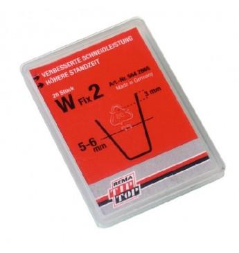 Лезвие W FIX 2 (5-6мм) 20шт