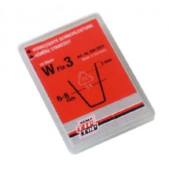 Лезвие W FIX 3 (6-8мм) 20шт