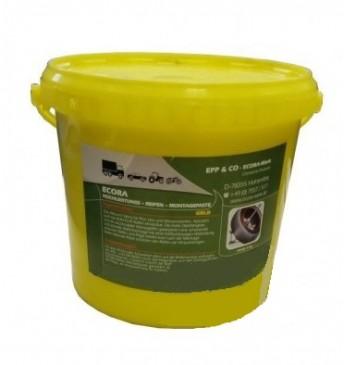 Монтажная паста ECORA желтая 5кг